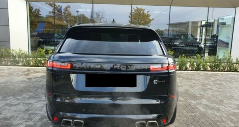 Land rover Range Rover Velar P550 SVAuto Dynamic Noir occasion à Montévrain - photo n°2