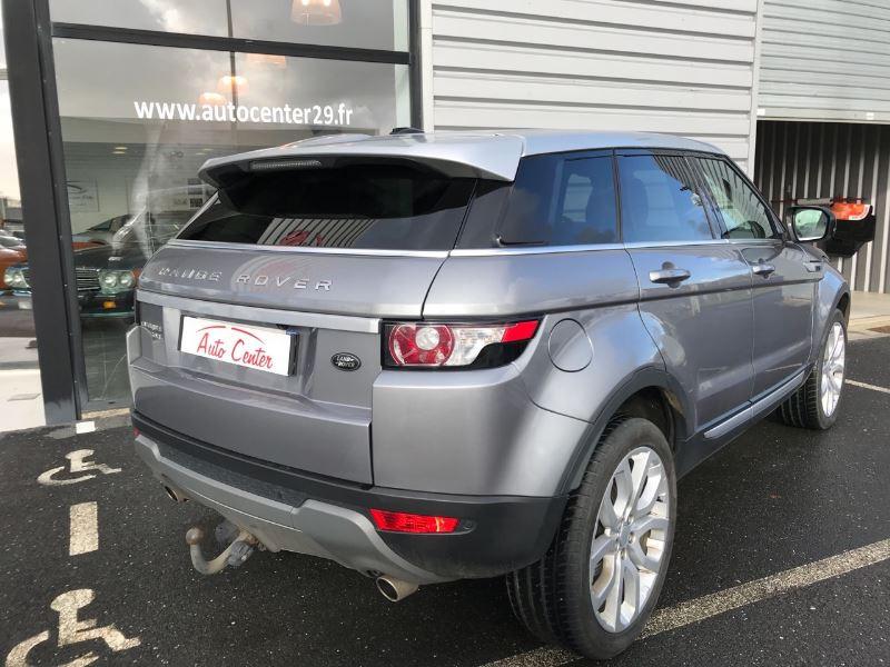 Land rover Range Rover 2.2 SD4 PRESTIGE BVA Gris occasion à Plougastel-Daoulas - photo n°2