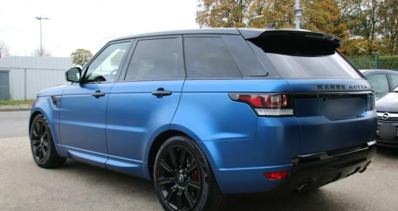 Land rover Range Rover 3.0 D 306 HSE Dynamic Bleu occasion à Boulogne-Billancourt - photo n°4