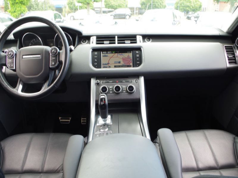 Land rover Range Rover 3.0 SDV6 HSE Dynamic 306 Noir occasion à Beaupuy - photo n°2