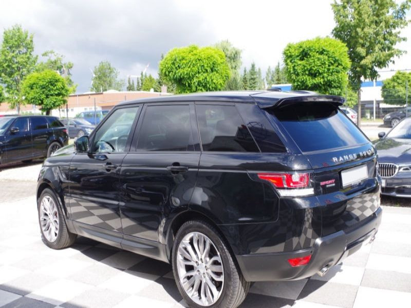 Land rover Range Rover 3.0 SDV6 HSE Dynamic 306 Noir occasion à Beaupuy - photo n°9