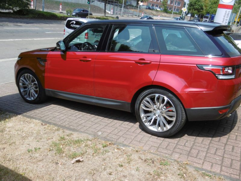 Land rover Range Rover 3.0 SDV6 HSE Dynamic 306 Rouge occasion à Beaupuy - photo n°3