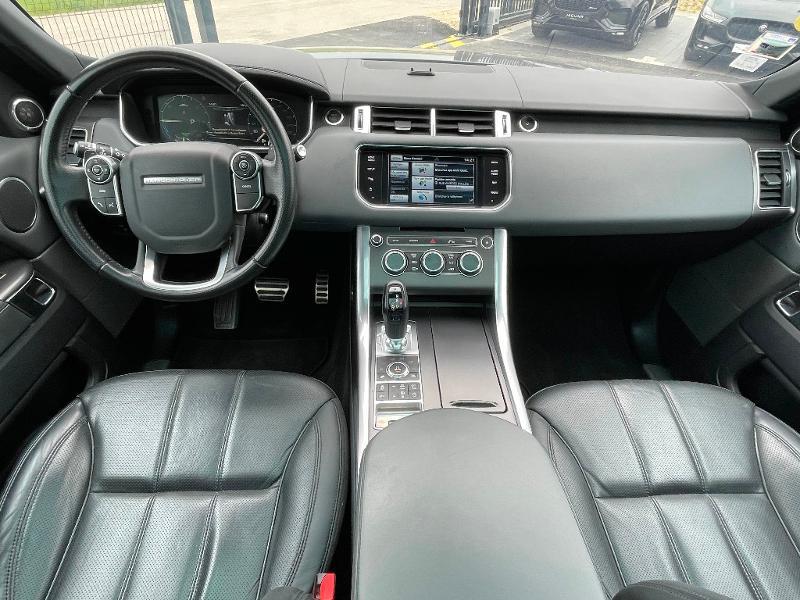 Land rover Range Rover 3.0 SDV6 Hybride 340 HSE Dynamic Mark IV Gris occasion à Barberey-Saint-Sulpice - photo n°8