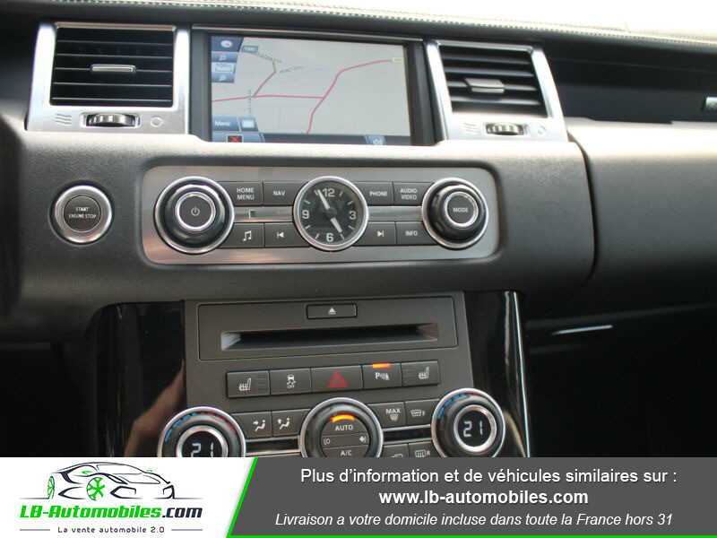 Land rover Range Rover 3.0 TDV6 245 DPF HSE BVA Noir occasion à Beaupuy - photo n°8