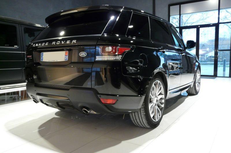 Land rover Range Rover 3.0 TDV6 258 HSE AUTO Noir occasion à Beaupuy - photo n°3