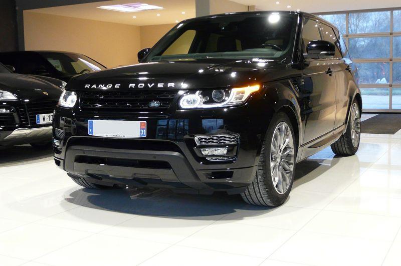 Land rover Range Rover 3.0 TDV6 258 HSE AUTO Noir occasion à Beaupuy