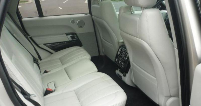 Land rover Range Rover 3.0 TDV6 258 Vogue SWB Mark V Jaune occasion à Laxou - photo n°5