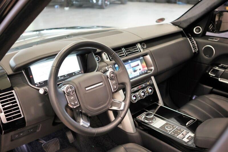 Land rover Range Rover 3.0 TDV6 258CH AUTOBIOGRAPHY LWB MARK VII Noir occasion à Villenave-d'Ornon - photo n°3