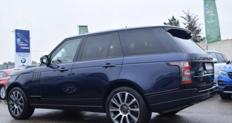 Land rover Range Rover 3.0 TDV6 HSE SWB Bleu occasion à VENDARGUES - photo n°5