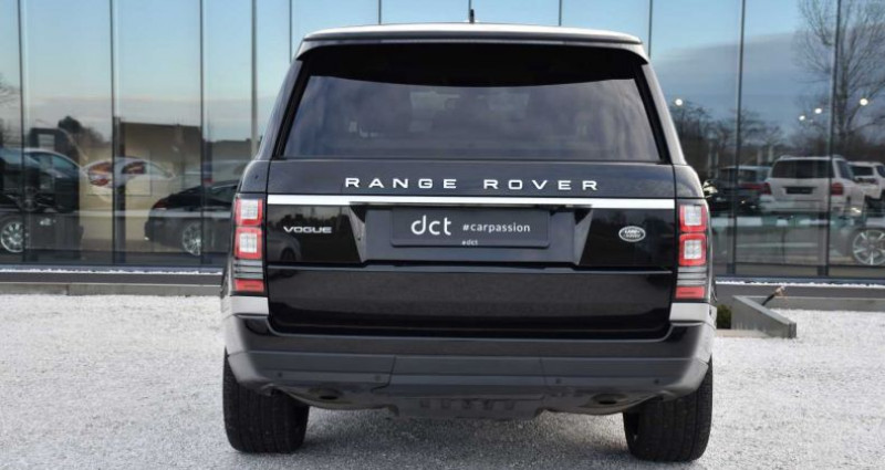 Land rover Range Rover 3.0 Vogue EU6 ACC Pano 22'Alu 1st Hand Noir occasion à Wielsbeke - photo n°4