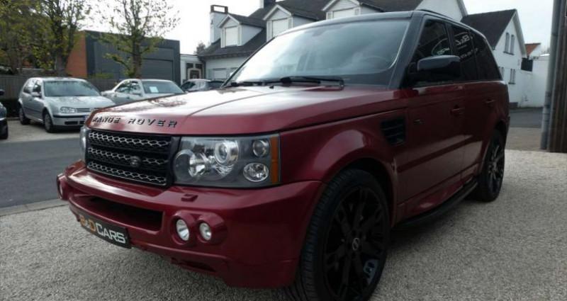 Land rover Range Rover 3.6 TdV8 32v HSE LICHTE VRACHT - UTILITAIRE Rouge occasion à Waregem - photo n°3