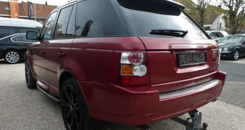 Land rover Range Rover 3.6 TdV8 32v HSE LICHTE VRACHT - UTILITAIRE Rouge occasion à Waregem - photo n°4