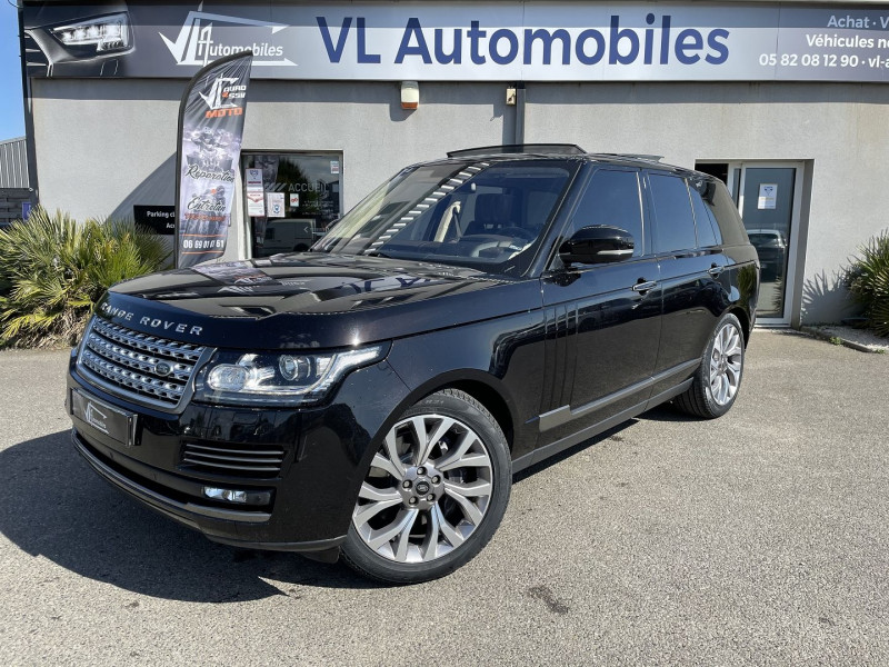 Land rover Range Rover 4.4 SDV8 AUTOBIOGRAPHY Noir occasion à Colomiers