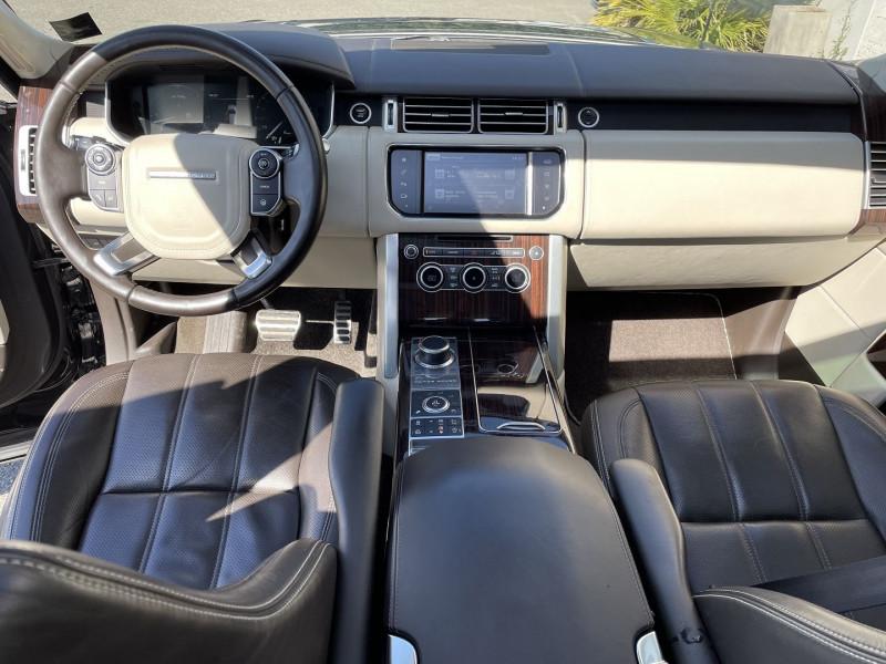 Land rover Range Rover 4.4 SDV8 AUTOBIOGRAPHY Noir occasion à Colomiers - photo n°6