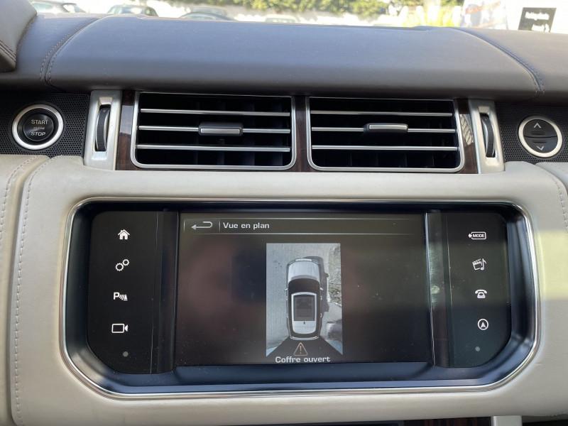 Land rover Range Rover 4.4 SDV8 AUTOBIOGRAPHY Noir occasion à Colomiers - photo n°8