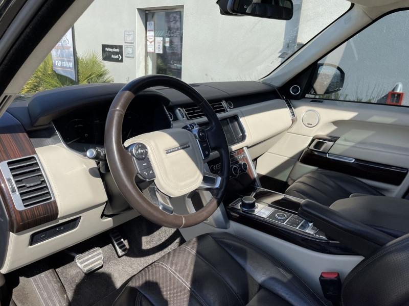 Land rover Range Rover 4.4 SDV8 AUTOBIOGRAPHY Noir occasion à Colomiers - photo n°5