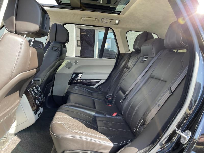 Land rover Range Rover 4.4 SDV8 AUTOBIOGRAPHY Noir occasion à Colomiers - photo n°4
