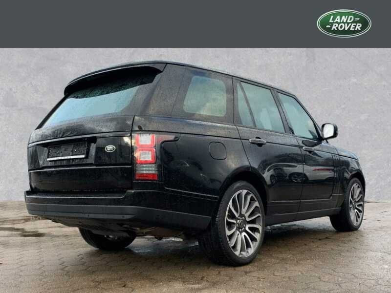 Land rover Range Rover 4.4 SDV8 Autobiography Noir occasion à BEAUPUY - photo n°3