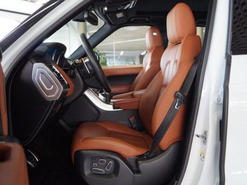 Land rover Range Rover 4.4 SDV8 HSE Dynamic Blanc occasion à Beaupuy - photo n°4