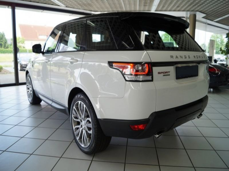 Land rover Range Rover 4.4 SDV8 HSE Dynamic Blanc occasion à Beaupuy - photo n°3
