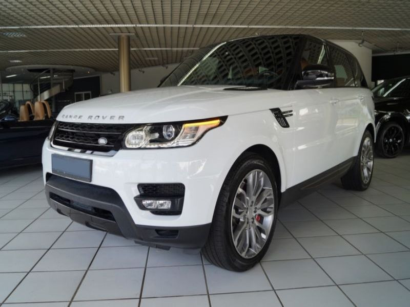 Land rover Range Rover 4.4 SDV8 HSE Dynamic Blanc occasion à Beaupuy