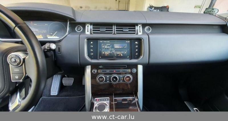 Land rover Range Rover 4.4 SDV8 Vogue LWB Noir occasion à Hesperange - photo n°6