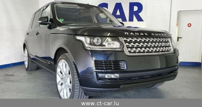 Land rover Range Rover 4.4 SDV8 Vogue LWB Noir occasion à Hesperange - photo n°3