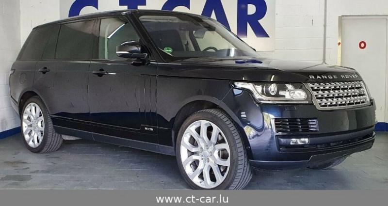 Land rover Range Rover 4.4 SDV8 Vogue LWB Noir occasion à Hesperange