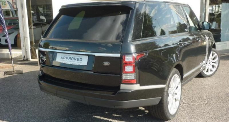 Land rover Range Rover 4.4 SDV8 Vogue SWB Mark II Noir occasion à Laxou - photo n°2
