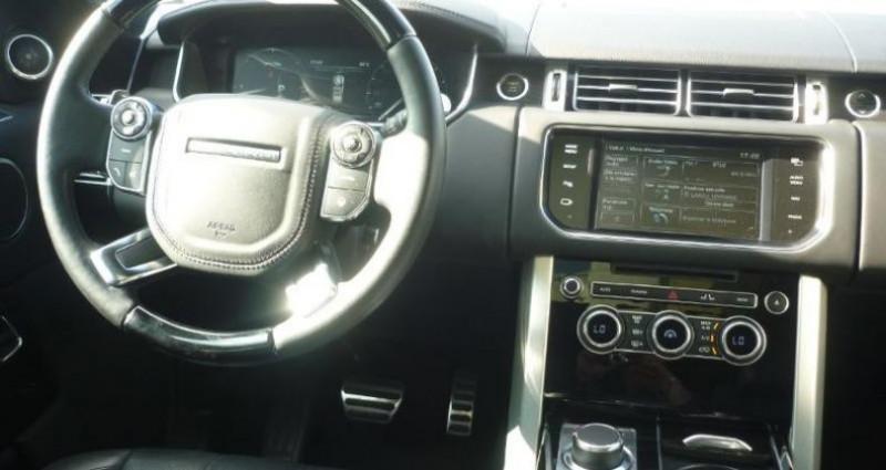 Land rover Range Rover 4.4 SDV8 Vogue SWB Mark II Noir occasion à Laxou - photo n°4
