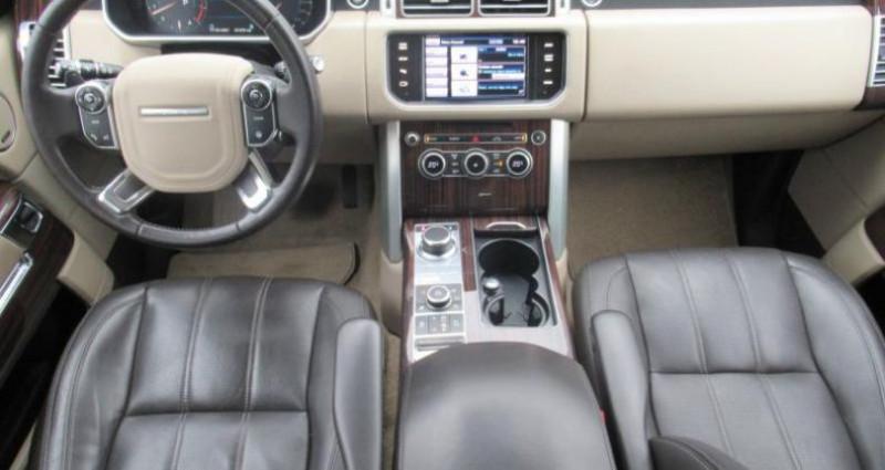 Land rover Range Rover 5.0 S/C VOGUE Stop&Start Noir occasion à Orléans - photo n°4