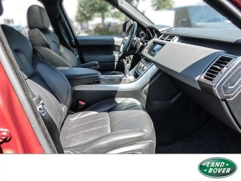 Land rover Range Rover 5.0 V8 HSE Dynamic 510 Rouge occasion à Beaupuy - photo n°5