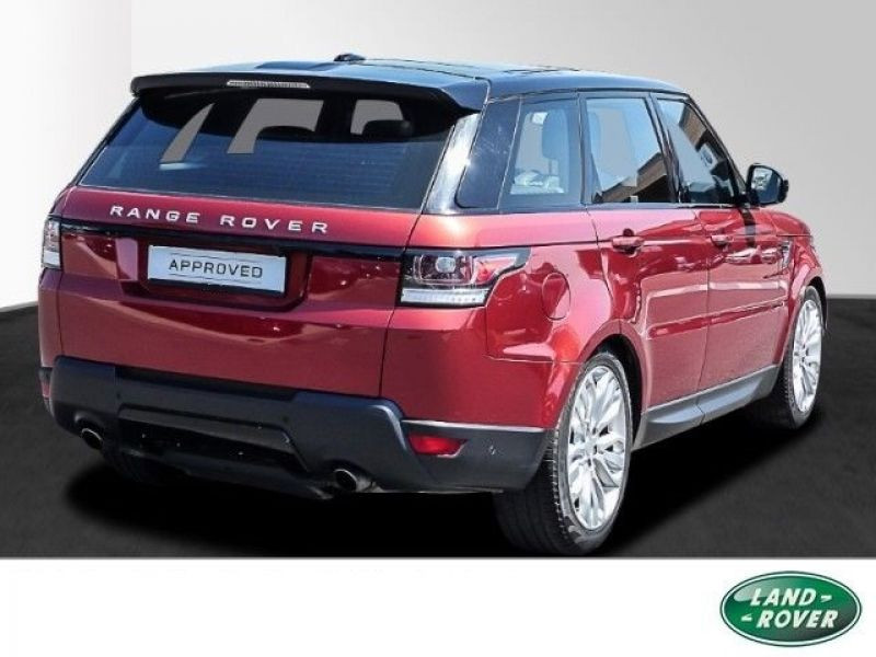 Land rover Range Rover 5.0 V8 HSE Dynamic 510 Rouge occasion à Beaupuy - photo n°3