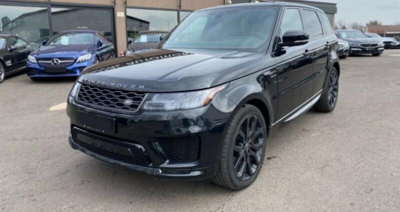 Land rover Range Rover 5.0 V8 SC DYNAMIQUE Noir occasion à Boulogne-Billancourt