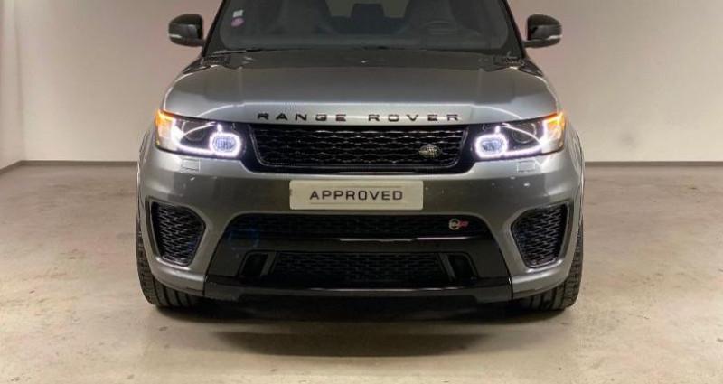 Land rover Range Rover 5.0 V8 Supercharged 550 SVR Mark IV Gris occasion à Nice - photo n°2