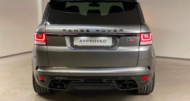 Land rover Range Rover 5.0 V8 Supercharged 550 SVR Mark IV Gris occasion à Nice - photo n°5