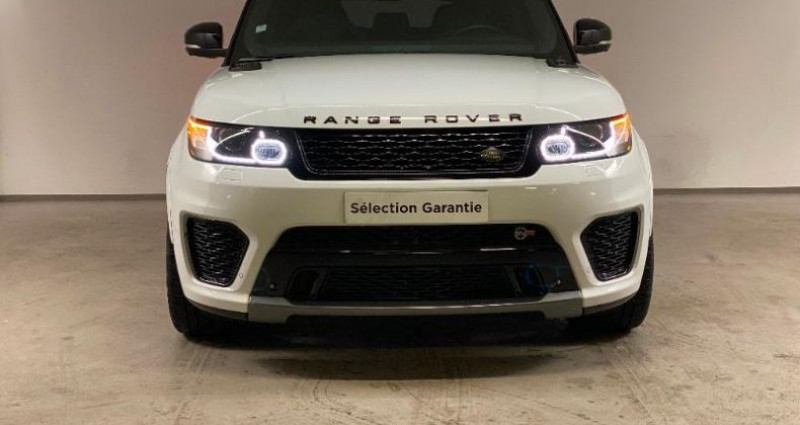 Land rover Range Rover 5.0 V8 Supercharged 550 SVR Mark IV Blanc occasion à Nice - photo n°2