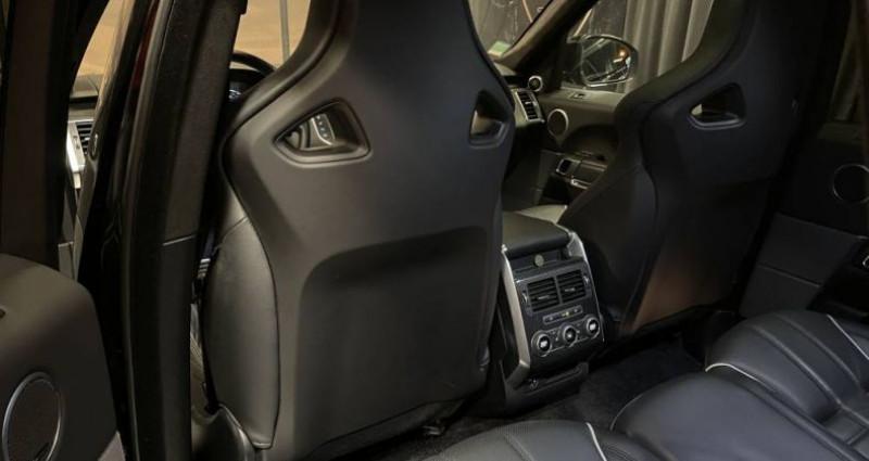 Land rover Range Rover 5.0 v8 supercharged SVR SVR Noir occasion à GUERANDE - photo n°7