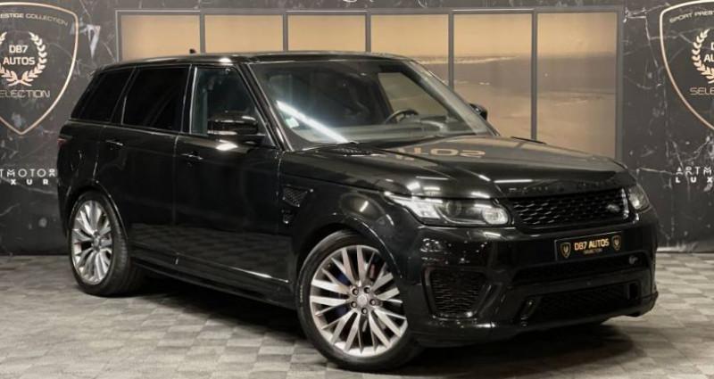 Land rover Range Rover 5.0 v8 supercharged SVR SVR Noir occasion à GUERANDE