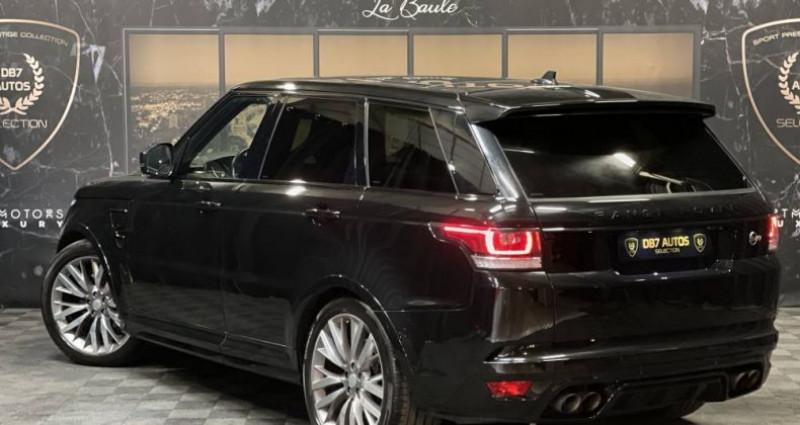 Land rover Range Rover 5.0 v8 supercharged SVR SVR Noir occasion à GUERANDE - photo n°3