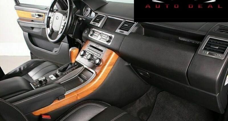 Land rover Range Rover 5.0 V8 Supercharged Noir occasion à Boulogne-Billancourt - photo n°3