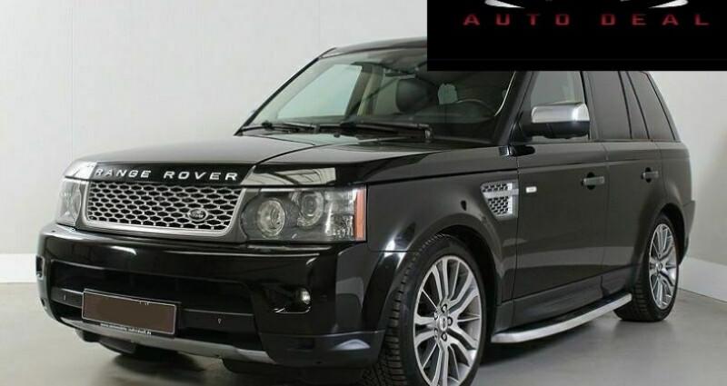 Land rover Range Rover 5.0 V8 Supercharged Noir occasion à Boulogne-Billancourt