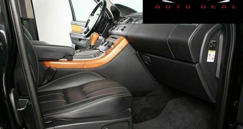 Land rover Range Rover 5.0 V8 Supercharged Noir occasion à Boulogne-Billancourt - photo n°5