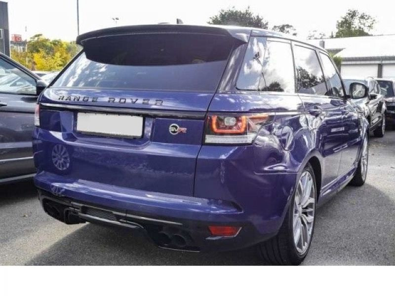 Land rover Range Rover 5.0 V8 SVR 550 Bleu occasion à Beaupuy - photo n°3