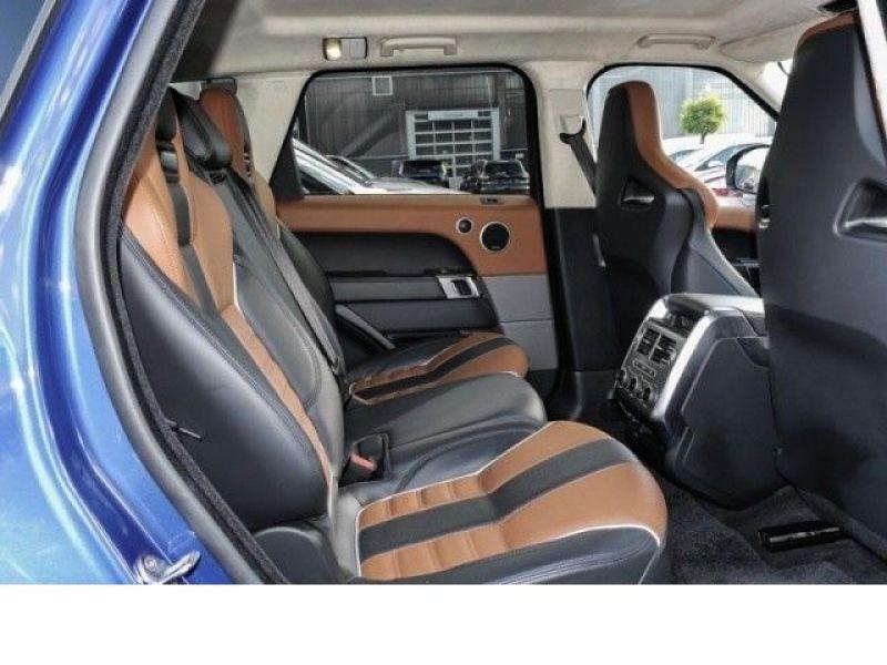 Land rover Range Rover 5.0 V8 SVR 550 Bleu occasion à Beaupuy - photo n°7