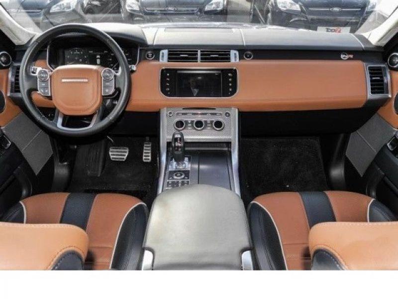 Land rover Range Rover 5.0 V8 SVR 550 Bleu occasion à Beaupuy - photo n°2