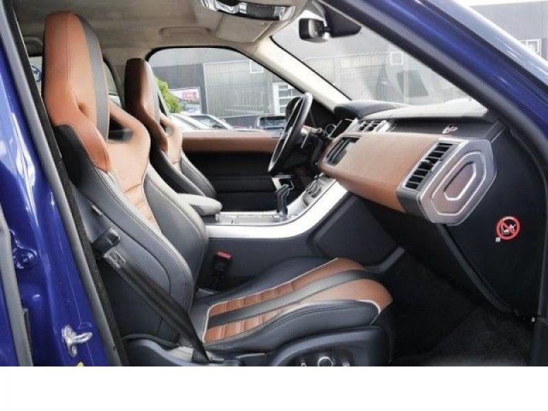 Land rover Range Rover 5.0 V8 SVR 550 Bleu occasion à Beaupuy - photo n°4