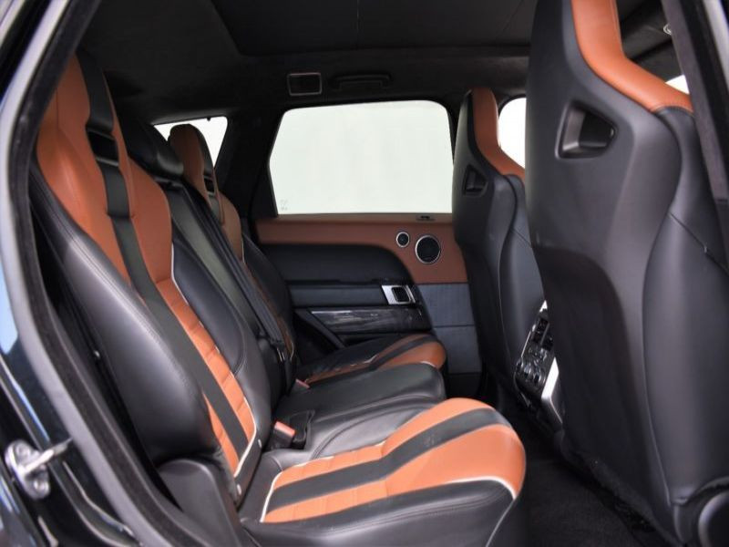 Land rover Range Rover 5.0 V8 SVR 550 Noir occasion à Beaupuy - photo n°6