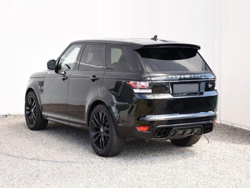 Land rover Range Rover 5.0 V8 SVR 550 Noir occasion à Beaupuy - photo n°3