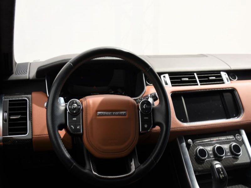Land rover Range Rover 5.0 V8 SVR 550 Noir occasion à Beaupuy - photo n°2